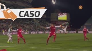 Vitória FC, Caso, Edinho aos 21'