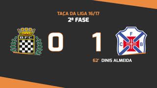 Taça da Liga (2ª Fase): Resumo Boavista FC - Os Belenenses