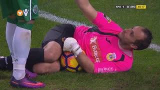 Sporting CP, Jogada, R. Petrović aos 46'