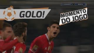 GOLO! SL Benfica, Gonçalo Guedes aos 34', Vitória SC 0-1 SL Benfica