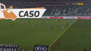 Sporting CP, Caso, Joel Campbell aos 48'