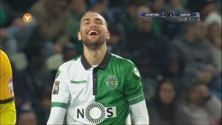 Sporting CP, Jogada, Bas Dost aos 45'