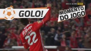 GOLO! SL Benfica, F. Cervi aos 39', SL Benfica 1-0 FC P.Ferreira