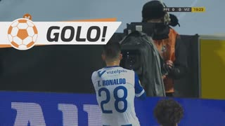 GOLO! Vizela, Tiago Ronaldo aos 20', FC P.Ferreira 0-1 Vizela