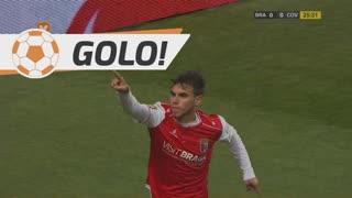 GOLO! SC Braga, Ricardo Horta aos 26', SC Braga 1-0 SC Covilhã