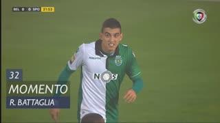 Sporting CP, Jogada, Rodrigo Battaglia aos 32'