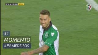 Sporting CP, Jogada, Iuri Medeiros aos 52'