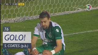 GOLO! Belenenses SAD, S. Coates (p.b.) aos 76', Belenenses SAD 1-1 Sporting CP