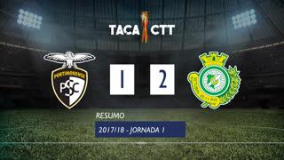 Taça CTT (Fase 3 - Jornada 1): Resumo Portimonense 1-2 Vitória FC