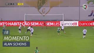 Moreirense FC, Jogada, Alan Schons aos 18'