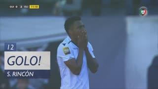 GOLO! Vitória SC, S. Rincón aos 12', Vitória SC 1-2 UD Oliveirense