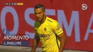 FC P.Ferreira, Jogada, Luiz Phellype aos 3'