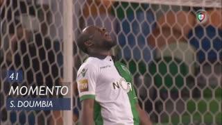 Sporting CP, Jogada, S. Doumbia aos 41'