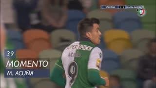 Sporting CP, Jogada, M. Acuña aos 39'