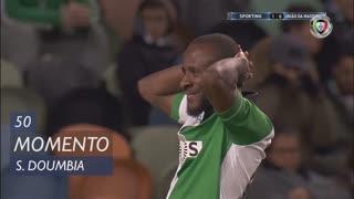 Sporting CP, Jogada, S. Doumbia aos 50'
