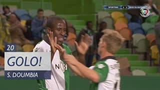 GOLO! Sporting CP, S. Doumbia aos 20', Sporting CP 1-0 U. Madeira