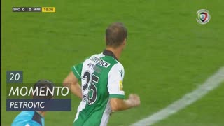 Sporting CP, Jogada, R. Petrovic aos 20'