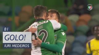 GOLO! Sporting CP, Iuri Medeiros aos 81', Sporting CP 6-0 U. Madeira