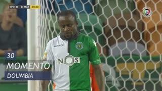 Sporting CP, Jogada, S. Doumbia aos 30'