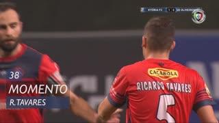 UD Oliveirense, Jogada, Ricardo Tavares aos 38'