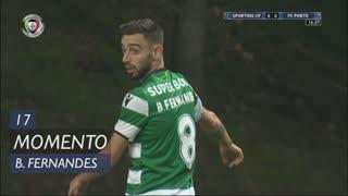Sporting CP, Jogada, Bruno Fernandes aos 17'