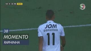 Vitória SC, Jogada, Raphinha aos 38'
