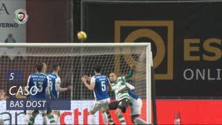 Sporting CP, Caso, Bas Dost aos 5'