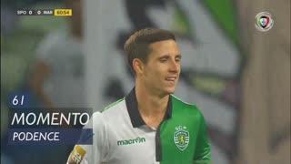 Sporting CP, Jogada, Daniel Podence aos 61'