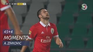 SL Benfica, Jogada, A. Zivkovic aos 45'+4'