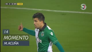 Sporting CP, Jogada, M. Acuña aos 14'