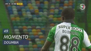 Sporting CP, Jogada, S. Doumbia aos 49'