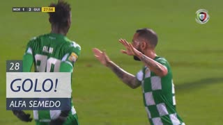 GOLO! Moreirense FC, Alfa Semedo Esteves aos 28', Moreirense FC 1-2 Vitória SC