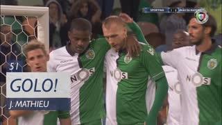 GOLO! Sporting CP, J. Mathieu aos 51', Sporting CP 2-0 U. Madeira