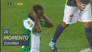 Sporting CP, Jogada, S. Doumbia aos 20'