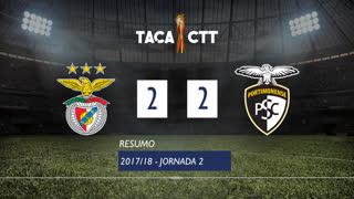 Taça CTT (Fase 3 - Jornada 2): Resumo SL Benfica 2-2 Portimonense