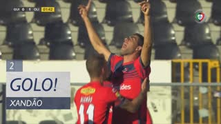 GOLO! UD Oliveirense, Xandão aos 3', Vitória SC 0-1 UD Oliveirense