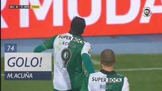 GOLO! Sporting CP, M. Acuña aos 74', Belenenses 0-1 Sporting CP
