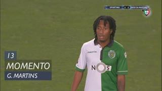 Sporting CP, Jogada, Gelson Martins aos 13'