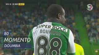 Sporting CP, Jogada, S. Doumbia aos 80'