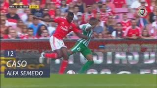 SL Benfica, Caso, Alfa Semedo aos 12'