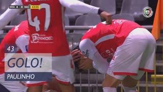 GOLO! SC Braga, Paulinho aos 43', SC Braga 4-0 CD Nacional