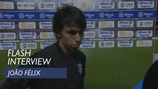 Taça da Liga (Fase de Grupos): Flash interview João Félix