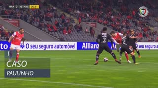 SC Braga, Caso, Paulinho aos 1'