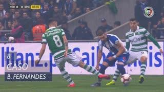 Sporting CP, Caso, Bruno Fernandes aos 8'