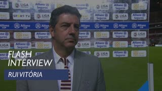 Taça da Liga (Fase de Grupos): Flash interview Rui Vitória