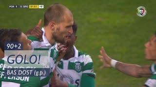 GOLO! Sporting CP, Bas Dost aos 90'+2', FC Porto 1-1 Sporting CP