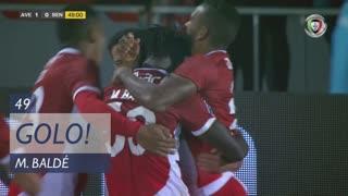 GOLO! CD Aves, M. Baldé aos 49', CD Aves 1-0 SL Benfica