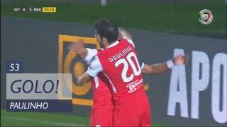 GOLO! SC Braga, Paulinho aos 53', Vitória FC 0-1 SC Braga