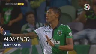 Sporting CP, Jogada, Raphinha aos 3'