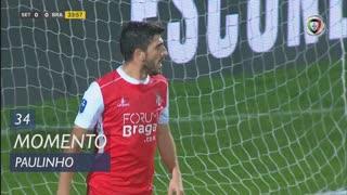 SC Braga, Jogada, Paulinho aos 34'